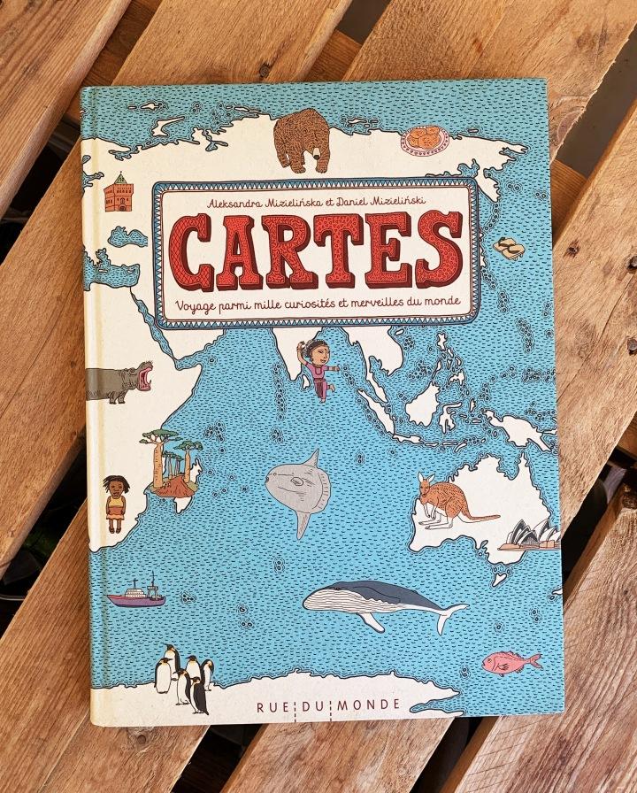 Cartes, voyage parmi mille curiosités et merveilles dumonde