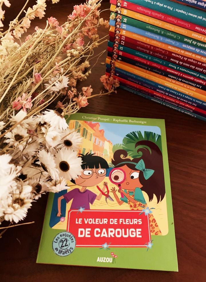 Maëlys et Lucien : le voleur de fleurs deCarouge